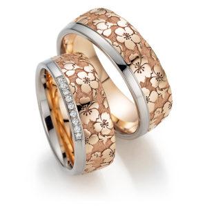 Silbergoldener Ehering